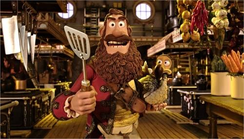 Les Pirates ! Bons à rien, Mauvais en tout - 04 - Pirate Captain / Hugh Grant
