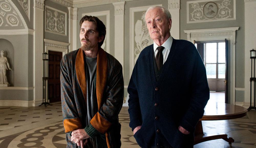 The Dark Knight Rises - 04 - Alfred Pennyworth & Bruce Wayne / Michael Caine & Christian Bale
