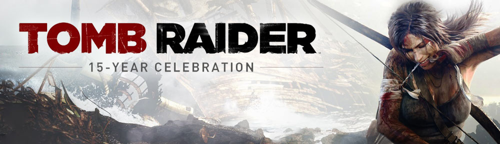 Tomb Raider 15-year Celebration - Header