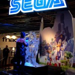 Paris Games Week 2011 Partie 2 - 12 - Sega - Sculpture de glace Sonic