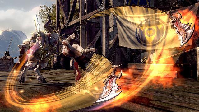 PS3 . God of War Ascension
