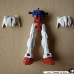 Maquette Strike Gundam 1/144eme 04 - 290808
