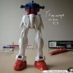 Maquette Strike Gundam 1/144eme 05 - 290808