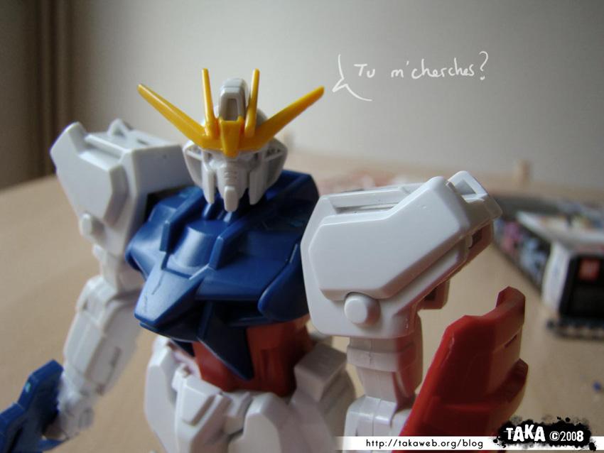 Maquette Strike Gundam 1/144eme 08 - 290808