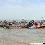Sénégal 21 - 120310 - Port de pêche de M Bour - Pirogue