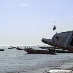 Sénégal 22 - 120310 - Port de pêche de M Bour - Pirogue