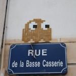 Nantes . Pixels & Streetart 28.03.2012 - 07 - Ghost . PacMan