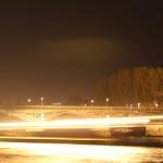 Paris la nuit 06.04.2012 - 11 - Boule de feu sur la Seine