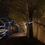 Paris la nuit 06.04.2012 - 13 - Lumière sur les quais de Seine