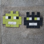 Nantes . Pixels & Streetart 28.03.2012 - 14 - Twins Invaders