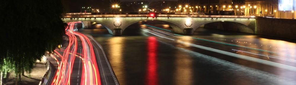 Paris la nuit 06.04.2012 - 14 - Lumières sur les quais de Seine