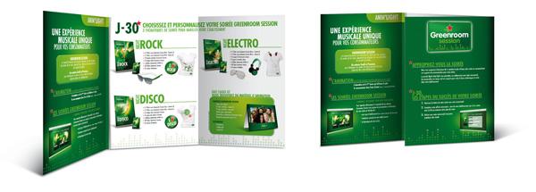Heineken . Anim'Light 2012 . Argumentaire de vente (intérieur)