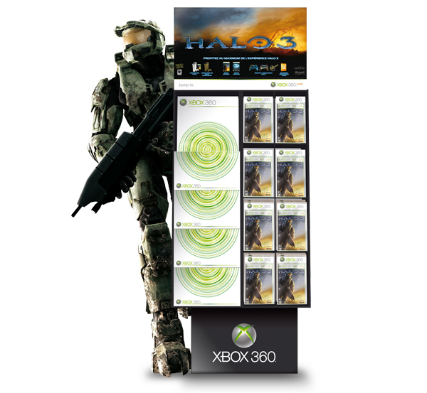 Xbox 360 . Box Halo 3